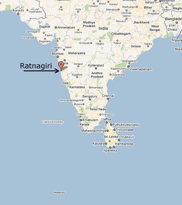 Ratnagiri India  city photos : The following maps indicate the location of Ratnagiri and it's ...